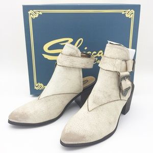 Sbicca Scorpi Western Ankle Boot New in Box